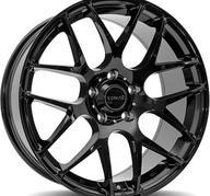 "18"" ROMAC RADIUM - Glossy Black 8,5x18 - ET37"