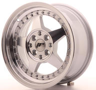 "15"" JAPAN RACING JR6 MACHINED SILVER"