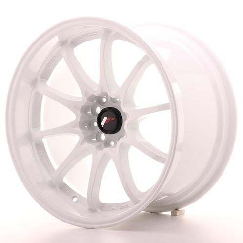 "18"" JAPAN RACING JR5 WHITE"