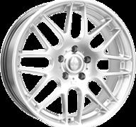 "20"" FOX RIVA DTM - Hyper Silver 8,5x20 - ET45"