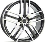 "22"" NOVUS NOVUS 0.3 - Gloss Black / Polished 9x22 - ET42"