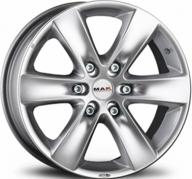 """16"""" MAK SIERRA - Silver 7x16 - ET30"""
