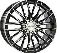 "19"" MONACO GP2 - Gloss Black / Polished 8,5x19 - ET45"