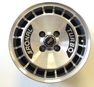 "15"" Ronal R10 Turbo Black polish - 4x100 - 7x15 - ET37 - 68,1"