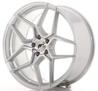 "20"" JAPAN RACING JR34 SILVER MACHINED"