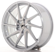 "19"" JAPAN RACING JR36 BRUSHED SILVER"