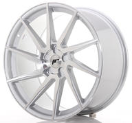 "22"" JAPAN RACING JR36 BRUSHED SILVER"