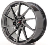 "18"" JAPAN RACING JR36 HYPER BLACK"