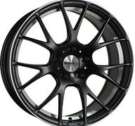 "19"" MONACO MIRABEAU - Dull Black / Polished 9,5x19 - ET38"