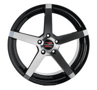 "19"" Barzetta Colonnello Black Polished"