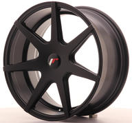 "18"" JAPAN RACING JR20 MATT BLACK"
