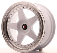"18"" JAPAN RACING JR6 WHITE"