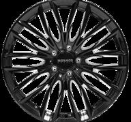 "19"" MONACO GP2 - Glossy Black 8,5x19 - ET45"