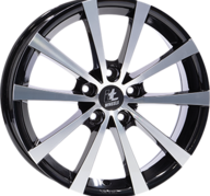 "17"" IT WHEELS ALICE - Gloss Black / Polished 7x17 - ET35"