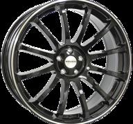 "22"" MONACO MASSENET - Gloss Black / Polished 9,5x22 - ET40"