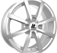 "15"" IT WHEELS ALISIA - Silver 6x15 - ET35"