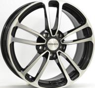 "16"" MONACO CL1 - Gloss Black / Polished 6,5x16 - ET35"