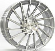 "18"" MONACO TURBINE - Light Gray Polished 8x18 - ET35"