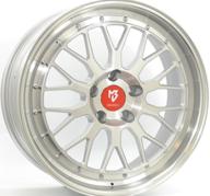 """20"""" MB DESIGN LV1 - Silver / Polished 8,5x20 - ET35"""