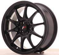 "16"" JAPAN RACING JR5 MATT BLACK"