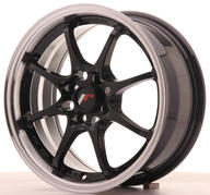 "15"" JAPAN RACING JR5 GLOSSY BLACK"