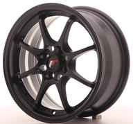"15"" JAPAN RACING JR5 MATT BLACK"