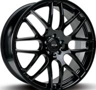 """17"""" FOX RIVA DTM - Glossy Black 7,5x17 - ET45"""