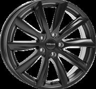 "20"" MONACO GP6 - Dull Black 9x20 - ET40"