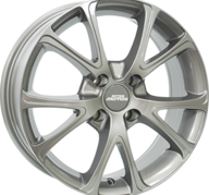 "15"" INTER ACTION PULSAR - Gloss Gray 6x15 - ET35"