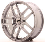 "20"" JAPAN RACING JR25 SILVER MACHINED"
