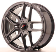 "18"" JAPAN RACING JR25 HYPER BLACK"