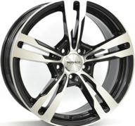 "21"" MONACO GP4 - Gloss Black / Polished 9,5x21 - ET40"