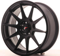 "17"" JAPAN RACING JR11 MATT BLACK"