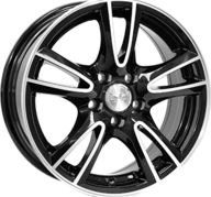 "15"" LEAGUE LG279 - Gloss Black / Polished 6,5x15 - ET35"