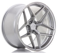 "21"" CONCAVER WHEELS - CVR2 - BRUSHED TITANIUM"