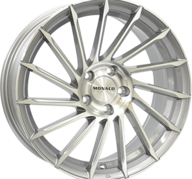 "19"" MONACO TURBINE - Light Gray Polished 8,5x19 - ET35"