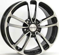 "16"" MONACO CL1 - Gloss Black / Polished 6,5x16 - ET45"