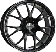 "19"" MONACO MIRABEAU - Dull Black / Polished 9,5x19 - ET20"