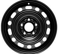 """15"""" KRONPRINZ STEEL STAAL - Black 6x15 - ET52"""