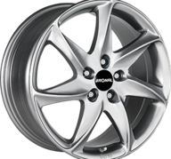 "16"" RONAL R51 - Hyper Silver 7x16 - ET35"