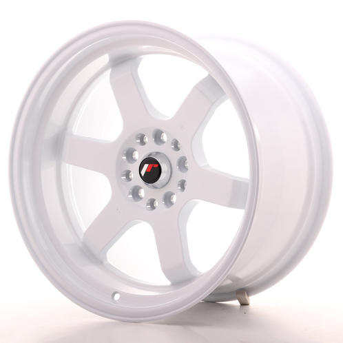 "18"" JAPAN RACING JR12 WHITE"