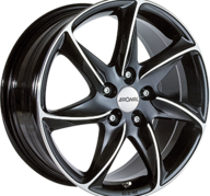 "16"" RONAL R51 - Gloss Black / Polished 7x16 - ET25"