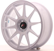 "17"" JAPAN RACING JR11 WHITE"