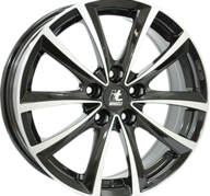 "18"" IT WHEELS ELENA - Gloss Black / Polished 8x18 - ET30"