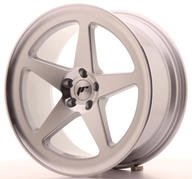 "18"" JAPAN RACING JR24 MACHINED SILVER"