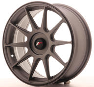 "17"" JAPAN RACING JR11 MATT GUNMETAL"