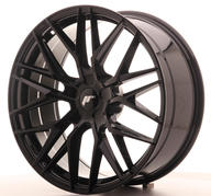 "20"" JAPAN RACING JR28 GLOSSY BLACK"