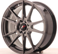 "17"" JAPAN RACING JR21 HYPER BLACK"