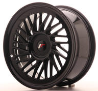 "18"" JAPAN RACING JR27 GLOSSY BLACK"