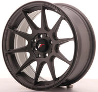 "16"" JAPAN RACING JR11 MATT GUNMETAL"